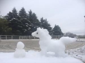 yuki2 300x224 雪だるま